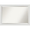 This item: Flair White 40W X 28H-Inch Bathroom Vanity Wall Mirror