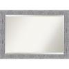 This item: Bark Gray 41W X 29H-Inch Bathroom Vanity Wall Mirror