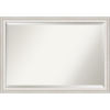 This item: Trio White and Silver 40W X 28H-Inch Bathroom Vanity Wall Mirror