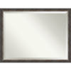 This item: Bark Brown 44W X 34H-Inch Bathroom Vanity Wall Mirror