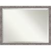 This item: Pinstripe Gray 44W X 34H-Inch Bathroom Vanity Wall Mirror