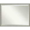 This item: Elegant Pewter 43W X 33H-Inch Bathroom Vanity Wall Mirror