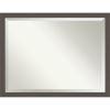 This item: Pewter 44W X 34H-Inch Bathroom Vanity Wall Mirror
