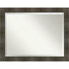 This item: Rail Brown 46W X 36H-Inch Bathroom Vanity Wall Mirror