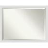 This item: Flair White 44W X 34H-Inch Bathroom Vanity Wall Mirror