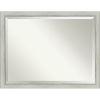 This item: Flair Silver 44W X 34H-Inch Bathroom Vanity Wall Mirror