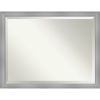 This item: Flair Brushed Nickel 44W X 34H-Inch Bathroom Vanity Wall Mirror