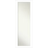 This item: Wedge White 18W X 52H-Inch Full Length Mirror