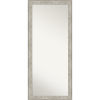 This item: Crackled Silver 29W X 65H-Inch Full Length Floor Leaner Mirror
