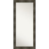This item: Rail Brown 30W X 66H-Inch Full Length Floor Leaner Mirror