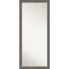 This item: Alta Brown and Gray 29W X 65H-Inch Full Length Floor Leaner Mirror