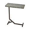 This item: Mettle Bronze and Galvanized Steel Accent Table