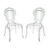 This item: Vie Clear 20-Inch Chair