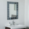This item: Silverlake Rectangular Frameless Bathroom Wall Mirror