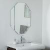 This item: Beveled Edge Frameless Bathroom Mirror