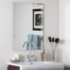 This item: Frameless Tri-bevel Wall Mirror
