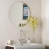 This item: Modern Frameless Round Beveled Mirror