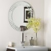 This item: The Glow Modern Frameless Wall Mirror