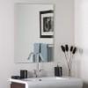 This item: Frameless Square Beveled Mirror