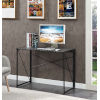This item: Xtra Charcoal Gray Black Office Desk