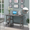 This item: Designs2Go Charcoal Gray Office Desk