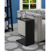 This item: Northfield Black 16-Inch C Shaped End Table