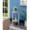 This item: Graystone White 24-Inch Plant Stand