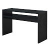 This item: Northfield Black Honeycomb Particle Board Deluxe Console Table