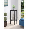 This item: Newport Faux Cement and Weathered Gray 15-Inch Plant Stand