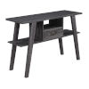 This item: Newport Weathered Gray Mike W Console Table with Drawer