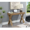 This item: Newport Driftwood 18-Inch Desk with Drawer