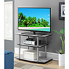 This item: Designs2Go Faux Birch Three Tier TV Stand
