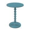 This item: Palm Beach Teal Blue Spindle Table