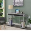 This item: Designs2Go Gray Office Desk