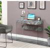 This item: Soho Gray Marble Office Desk