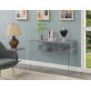This item: Soho Gray Marble Accent Console Table