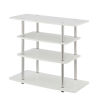 This item: Design2Go White 32-Inch TV Stand