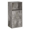 This item: Faux Birch 35-Inch Xtra Storage Two Door Cabinet