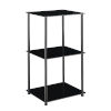 This item: Designs2Go Classic Black Three-Tier Bookshelf