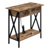 This item: Tucson Flip Top End Table with Charging Station and Shelf
