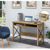 This item: Durango English Oak Black Office Desk