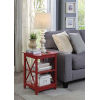This item: Oxford Cranberry Red 16-Inch End Table