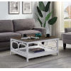 This item: Omega Driftwood and White 36-Inch Coffee Table