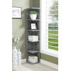 This item: Omega Gray 5 Tier Bookcase