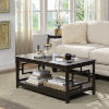 This item: Town Square Espresso 22-Inch Square Coffee Table