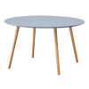 This item: Oslo Gray Round Coffee Table