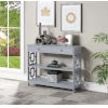 This item: Town Square Gray Accent Console Table