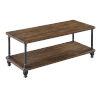 This item: Zion Dark Walnut MDF Coffee Table