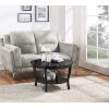 This item: American Heritage Black 30-Inch Round Coffee Table