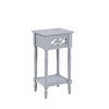 This item: French Country Gray Khloe Accent Table
